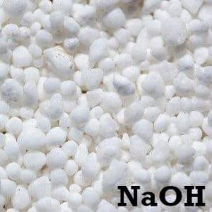 Lipeä rae (natriumhydroksidi) saippuan valmistukseen